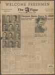 The Tiger Vol. XLVIII No. 1 1954-09-09
