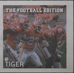 The Tiger Football Edition 2018 by Clemson University